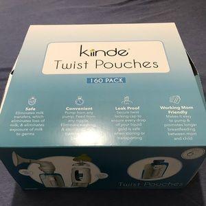 Kiinde Twist storage bags approx 140